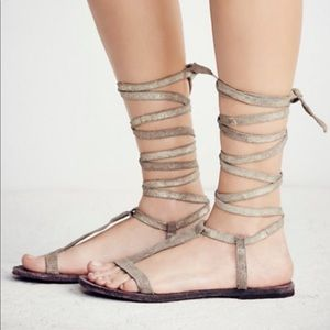 free people dahlia lace up sandal